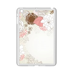 Flower Floral Rose Sunflower Star Sexy Pink Ipad Mini 2 Enamel Coated Cases