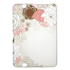 Flower Floral Rose Sunflower Star Sexy Pink Kindle Fire Hd 8 9