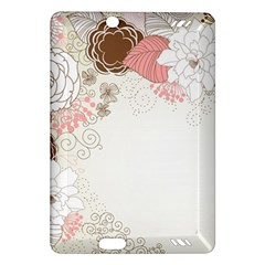 Flower Floral Rose Sunflower Star Sexy Pink Amazon Kindle Fire Hd (2013) Hardshell Case