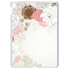 Flower Floral Rose Sunflower Star Sexy Pink Apple Ipad Pro 9 7   White Seamless Case