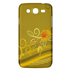 Flower Floral Yellow Sunflower Star Leaf Line Gold Samsung Galaxy Mega 5 8 I9152 Hardshell Case