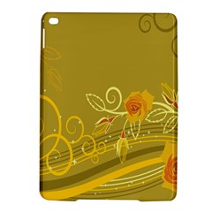 Flower Floral Yellow Sunflower Star Leaf Line Gold Ipad Air 2 Hardshell Cases