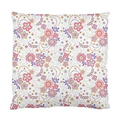 Flower Floral Sunflower Rose Purple Red Star Standard Cushion Case (two Sides)
