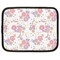 Flower Floral Sunflower Rose Purple Red Star Netbook Case (xxl)