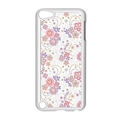 Flower Floral Sunflower Rose Purple Red Star Apple Ipod Touch 5 Case (white)