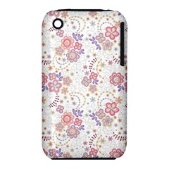 Flower Floral Sunflower Rose Purple Red Star Iphone 3s/3gs