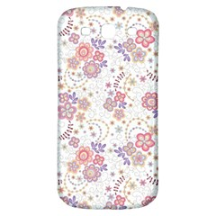 Flower Floral Sunflower Rose Purple Red Star Samsung Galaxy S3 S Iii Classic Hardshell Back Case