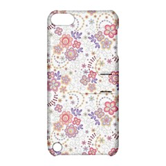 Flower Floral Sunflower Rose Purple Red Star Apple Ipod Touch 5 Hardshell Case With Stand