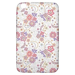 Flower Floral Sunflower Rose Purple Red Star Samsung Galaxy Tab 3 (8 ) T3100 Hardshell Case