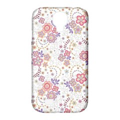 Flower Floral Sunflower Rose Purple Red Star Samsung Galaxy S4 Classic Hardshell Case (pc+silicone)