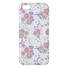 Flower Floral Sunflower Rose Purple Red Star Iphone 5s/ Se Premium Hardshell Case