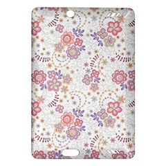 Flower Floral Sunflower Rose Purple Red Star Amazon Kindle Fire Hd (2013) Hardshell Case