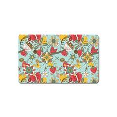 Flower Fruit Star Polka Rainbow Rose Magnet (name Card)