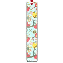Flower Fruit Star Polka Rainbow Rose Large Book Marks