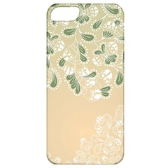 Flower Frame Green Sexy Apple Iphone 5 Classic Hardshell Case