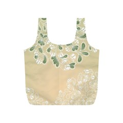 Flower Frame Green Sexy Full Print Recycle Bags (s)