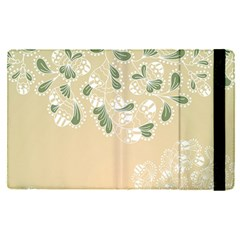 Flower Frame Green Sexy Apple Ipad Pro 12 9   Flip Case