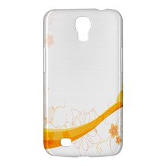 Flower Floral Yellow Sunflower Star Leaf Line Samsung Galaxy Mega 6 3  I9200 Hardshell Case