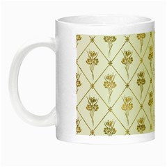 Flower Leaf Gold Night Luminous Mugs