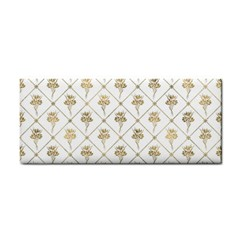 Flower Leaf Gold Cosmetic Storage Cases
