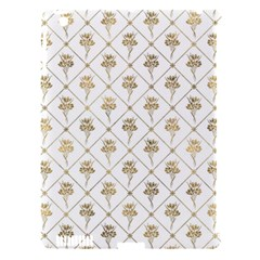 Flower Leaf Gold Apple Ipad 3/4 Hardshell Case (compatible With Smart Cover)