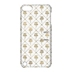 Flower Leaf Gold Apple Ipod Touch 5 Hardshell Case With Stand