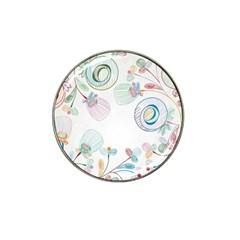 Flower Rainbow Circle Polka Leaf Sexy Hat Clip Ball Marker