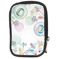 Flower Rainbow Circle Polka Leaf Sexy Compact Camera Cases