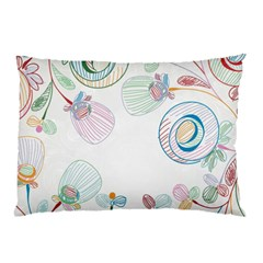 Flower Rainbow Circle Polka Leaf Sexy Pillow Case (two Sides)