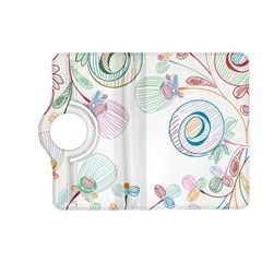 Flower Rainbow Circle Polka Leaf Sexy Kindle Fire Hd (2013) Flip 360 Case
