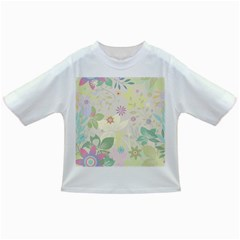 Flower Rainbow Star Floral Sexy Purple Green Yellow White Rose Infant/toddler T Shirts