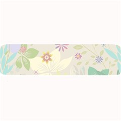 Flower Rainbow Star Floral Sexy Purple Green Yellow White Rose Large Bar Mats