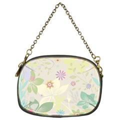 Flower Rainbow Star Floral Sexy Purple Green Yellow White Rose Chain Purses (one Side)
