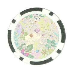 Flower Rainbow Star Floral Sexy Purple Green Yellow White Rose Poker Chip Card Guard (10 Pack)
