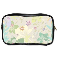Flower Rainbow Star Floral Sexy Purple Green Yellow White Rose Toiletries Bags
