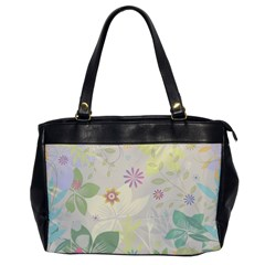Flower Rainbow Star Floral Sexy Purple Green Yellow White Rose Office Handbags