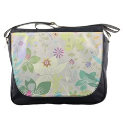 Flower Rainbow Star Floral Sexy Purple Green Yellow White Rose Messenger Bags