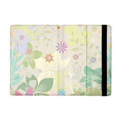 Flower Rainbow Star Floral Sexy Purple Green Yellow White Rose Apple Ipad Mini Flip Case