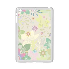 Flower Rainbow Star Floral Sexy Purple Green Yellow White Rose Ipad Mini 2 Enamel Coated Cases