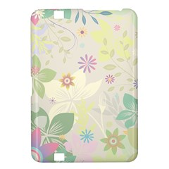 Flower Rainbow Star Floral Sexy Purple Green Yellow White Rose Kindle Fire Hd 8 9