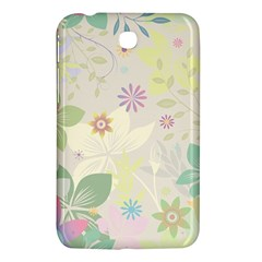 Flower Rainbow Star Floral Sexy Purple Green Yellow White Rose Samsung Galaxy Tab 3 (7 ) P3200 Hardshell Case