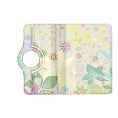 Flower Rainbow Star Floral Sexy Purple Green Yellow White Rose Kindle Fire Hd (2013) Flip 360 Case