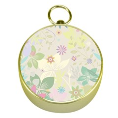Flower Rainbow Star Floral Sexy Purple Green Yellow White Rose Gold Compasses