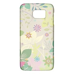 Flower Rainbow Star Floral Sexy Purple Green Yellow White Rose Galaxy S6