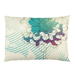 Flower Rose Purple Sunflower Lotus Pillow Case (two Sides)