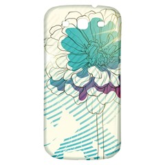 Flower Rose Purple Sunflower Lotus Samsung Galaxy S3 S Iii Classic Hardshell Back Case