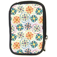 Flower Rainbow Fan Sunflower Circle Sexy Compact Camera Cases