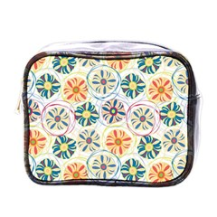 Flower Rainbow Fan Sunflower Circle Sexy Mini Toiletries Bags