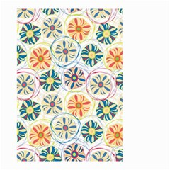 Flower Rainbow Fan Sunflower Circle Sexy Small Garden Flag (two Sides)