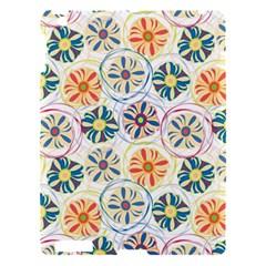 Flower Rainbow Fan Sunflower Circle Sexy Apple Ipad 3/4 Hardshell Case